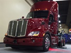 Peterbilt's new Model 579 Epiq day cab on display at ATA MC&E. Photo: Deborah Lockridge