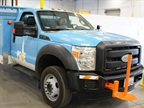 PG&E's new Class 5 hybrid-electric trucks were developed in partnership with EVI.