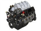 The PSI 8.8L natural gas engine with Quantum's CNG fuel system.