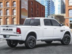 Ram is bringing new, special-edition Night packages for Ram 2500 and 3500 HD pickups to the 2017 Chicago Auto Show. (Photo courtesy of Ram Truck)