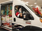 An all-new Ram ProMaster delivered holiday cheer to U.S. military personnel in San Antonio