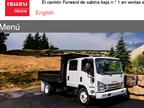 <p><em>Screenshot via Isuzucv.com</em></p>