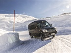 The Sprinter 4X4 has been put to the test in the Swiss Alps.