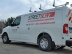 StreetScan is adding TomTom Bridge to its Nissan NV vans. Photo courtesy of StreetScan.