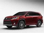 Photo of 2017 Highlander courtesy of Toyota.