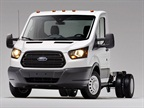 The Ford Transit chassis cab.