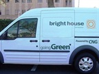 This Bright House Transit Connect is the company's first which will run entirely on compressed natural gas (CNG). (PHOTO: Westport)