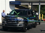 The truck arrives back home on May 23. (PHOTO: Alliance AutoGas)