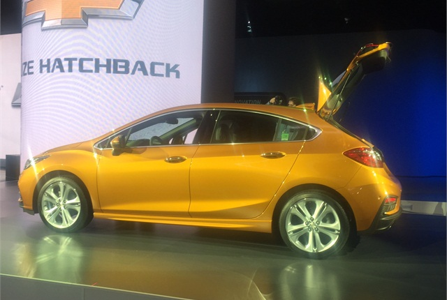 Lastest 2017 Chevrolet Cruze Hatch  2016 Detroit Auto Show In