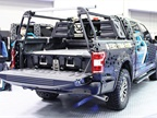 DECKED low-profile truck bed tool box system keeps tools organized