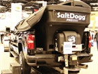 Buyers Products showcased its SaltDogg line of spreaders, including