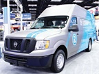 Adrian Steel showcased its cargo van storage and shelving solutions,