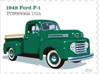 The 1948 Ford F-1 included features like the roomy  million dollar