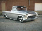 This 1957 Chevrolet 3100 Custom Truck, better known as