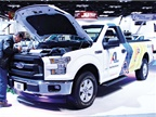 XL presented its battery-electric hybrid Ford F-250 with XLP