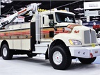 Among Kenworth's displays was a T370 with Summit Service Body