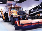 Two Mack Granite model trucks showed off their vocational versatility