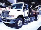 International Trucks unveiled the Class 6-7 MV Series, able to be