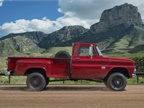 1960-1966: The first-generation C/K trucks used lower drop-center