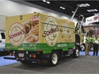 Schwan's Food Service truck by Isuzu Commercial Truck of America.
