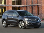 GM's new Chevrolet Traverse features a new exterior design, new interior upgrades, and improved handling characteristics.