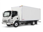 Isuzu Commercial Truck of America won the 2013 Medium-Duty Truck of