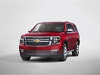 The 2015 Chevrolet Tahoe will be available at dealerships during the first quarter of 2014. Photo courtesy GM.