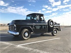 This 1956 Chevy pickup features all original parts and can get up to