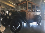 Nicknamed the  Depot Hack,  the 1928 Chevy National AB Woody 4-Door