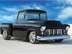 This gem of a vehicle, a 1959 Chevrolet 3100 Custom Pickup, sold for