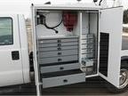 The American Eagle Heavy-Duty Aluminum Drawer Systems provide heavy-duty mobile storage, with weight savings up to 41% compared to its steel counterpart.
