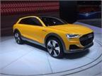 Audi H-Tron concept hydrogen fuel cell car