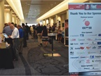 Attendees mingle on the conference floor at the 2017 Fleet Safety