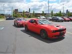 Fleet customers rode in the 2017 Dodge Challenger SRT Hellcat during