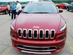 This Jeep Cherokee was among the Jeep models available for track and