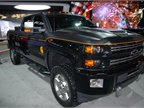 Chevrolet Silverado HD with special appearance package.