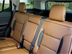 The 2017 Acadia offers seating configurations for five, six or seven
