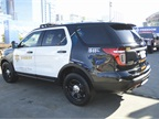 Ford Police Interceptor Utility used by the Los Angeles Sheriff s