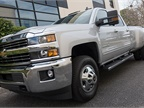 The truck offers a 5-year or 100,000-mile warranty.