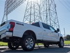 This F-250 model can tow a trailer that weighs up to 15,000 pounds and