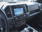 The truck is outfitted with Ford s Sync3 system.