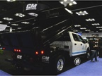 CM Truck Beds displayed its first complete heavy-duty dump body model.