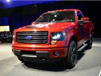 2014 Ford F-150 Tremor comes standard with the company's powerful 3.5L EcoBoost engine, offering V-8 performance, V-6 fuel economy, and a launch-optimized 4.10 rear axle with electronic locking differential