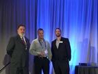 (l. to r.) Rich Wilson, Omnitracs  senior sales manager; Ken Marvenko