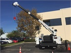 The Stellar 7621 Telescopic Service Crane was mounted on a Stellar