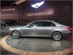 2017 Genesis G90 luxury sedan
