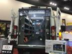 Terminal Supply Co. displayed a van with shelving and plenty of hooks