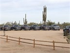 The Ram 1500 media event included opportunities to drive all Ram 1500