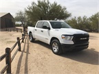 The Ram 1500 offers up to 2,300 pounds of payload in the four-door
