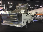 TruckCraft displayed its TC-200 aluminum combo body, which includes